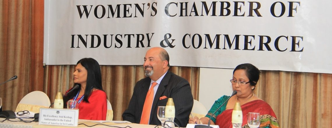 Ambassador Keshap's Remarks at Women's Chamber of Industry and Commerce AGM