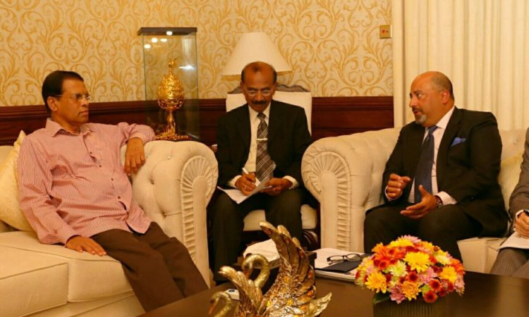 U.S. Ambassador to Sri Lanka Atul Keshap joined President Maithripala Sirisena to announce LKR 350 million in humanitarian assistance to help people affected by the flooding and landslides in Sri Lanka.
