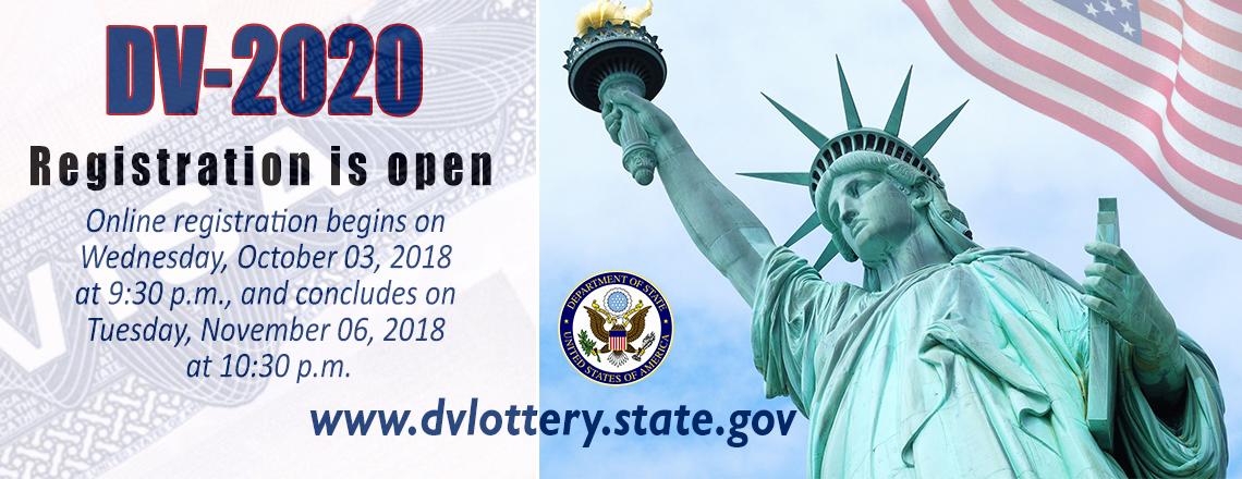 2020 Diversity Visa Lottery Program